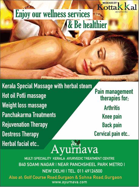 Kerala Ayurvedic Massage Gurgaon
