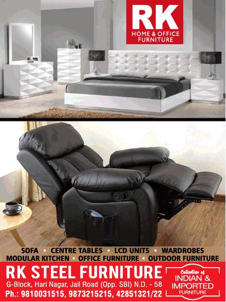 R K Steel furniture