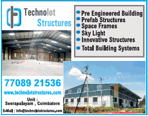 Technolot Structures Coimbatore