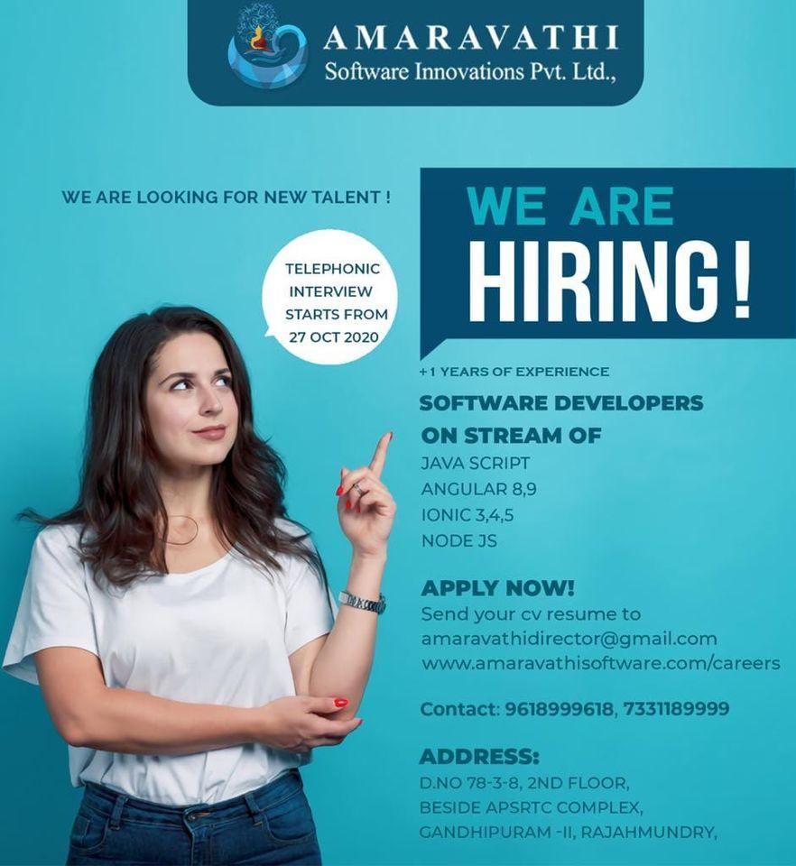 Amaravathi software company in rajahmundry