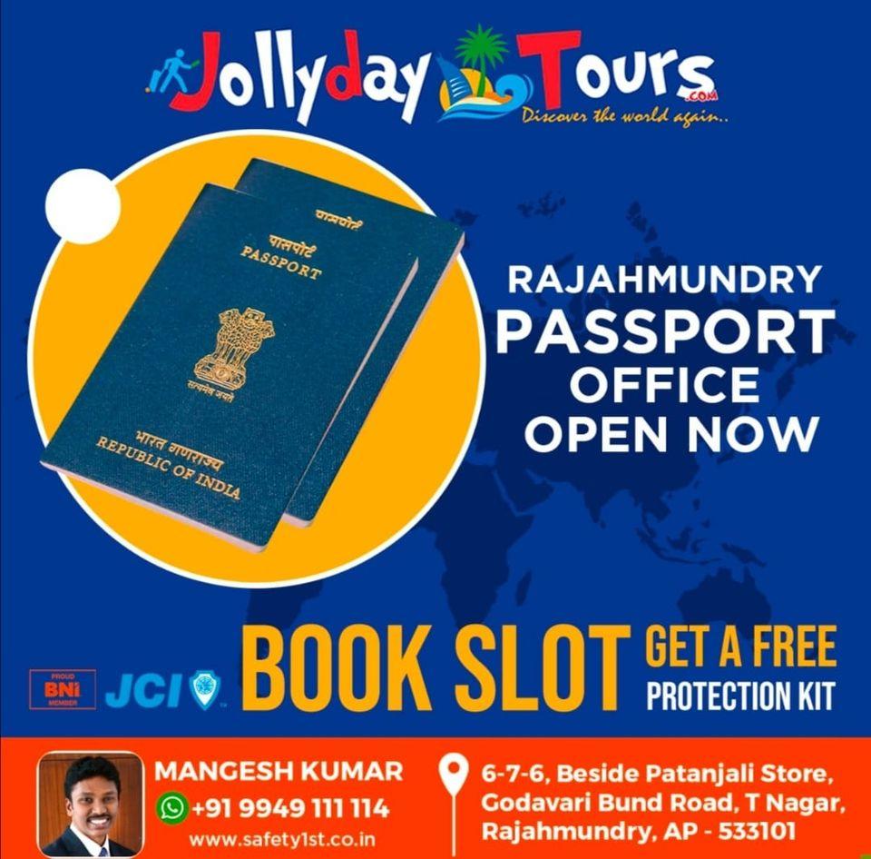 Jollyday Tours Rajahmundry