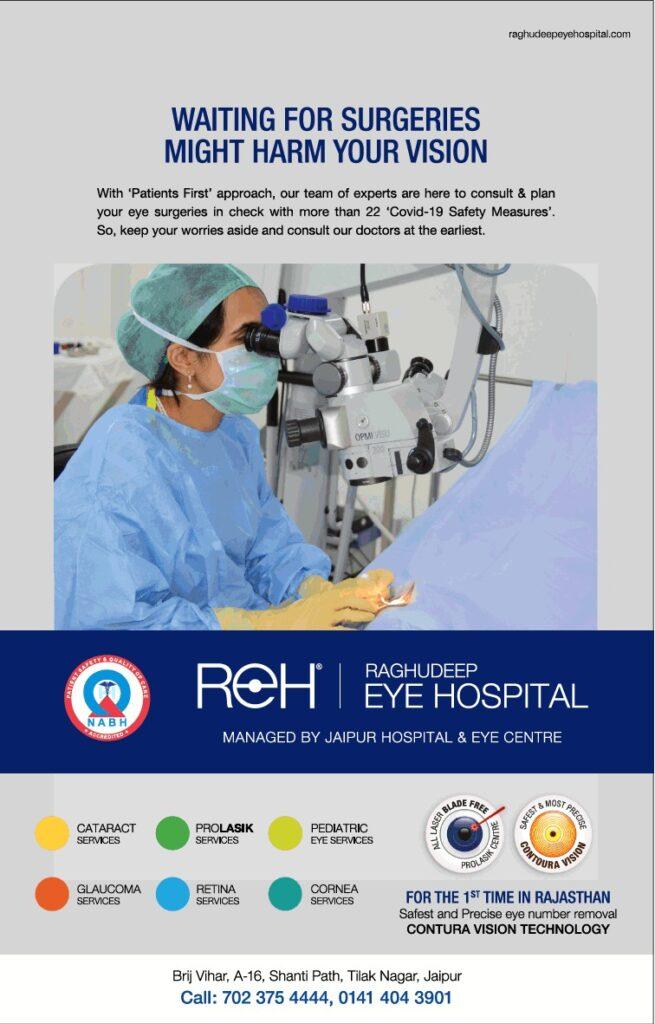 Raghudeep Eye Hospital Jaipur