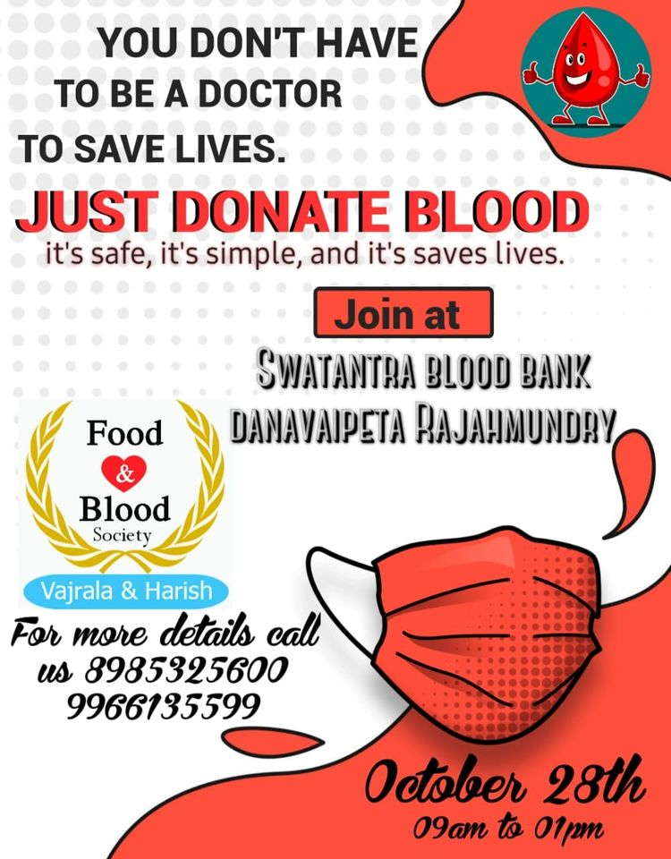 Swatantra Blood Bank rajahmundry