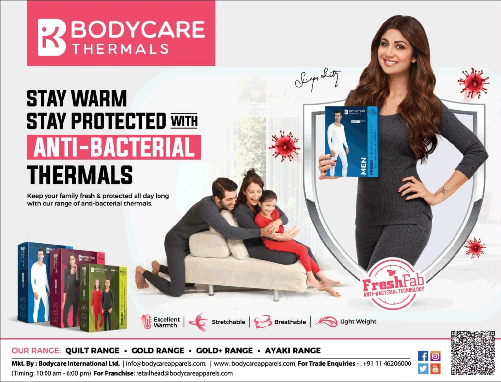 Body care thermals for ladies