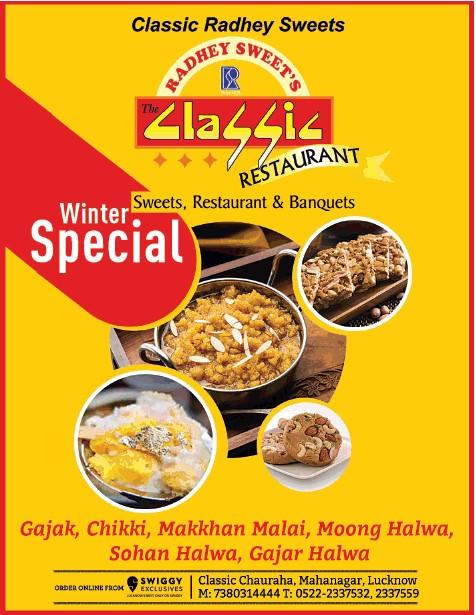 Classic restaurant Lucknow