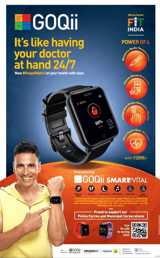 Goqii Smart Vital Watch