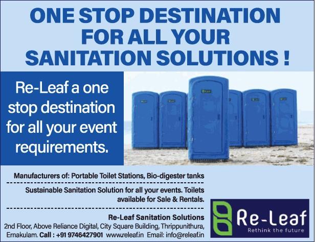 Releaf sanitation solutions