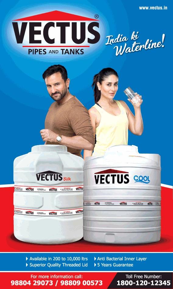 Vectus water tank company