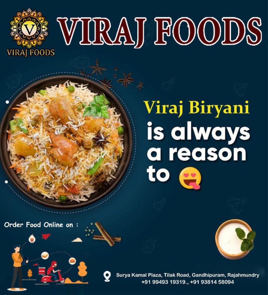 Viraj foods rajahmundry