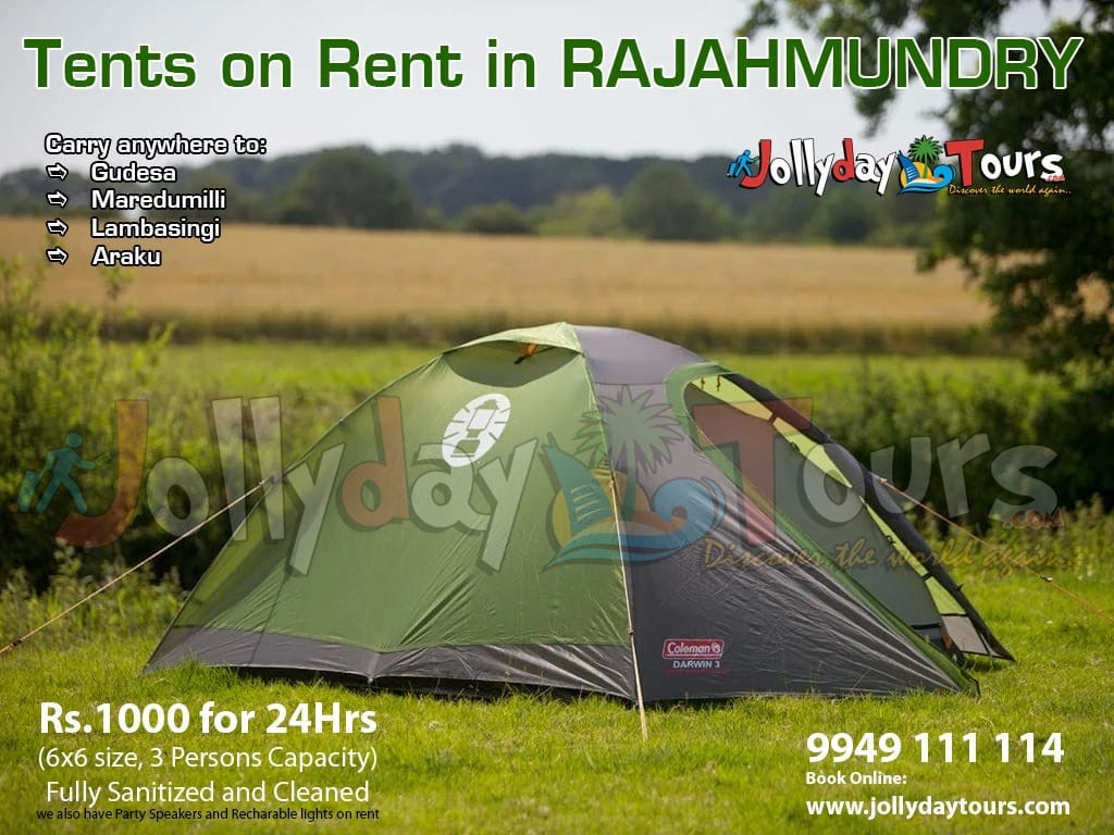 Camping Tents for Rent in Rajahmundry