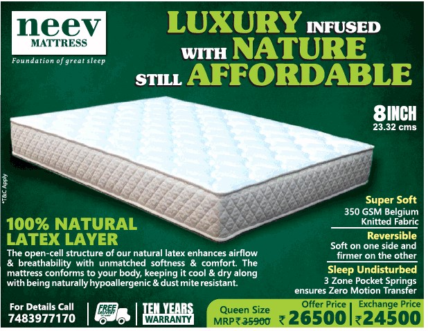 neev mattress review