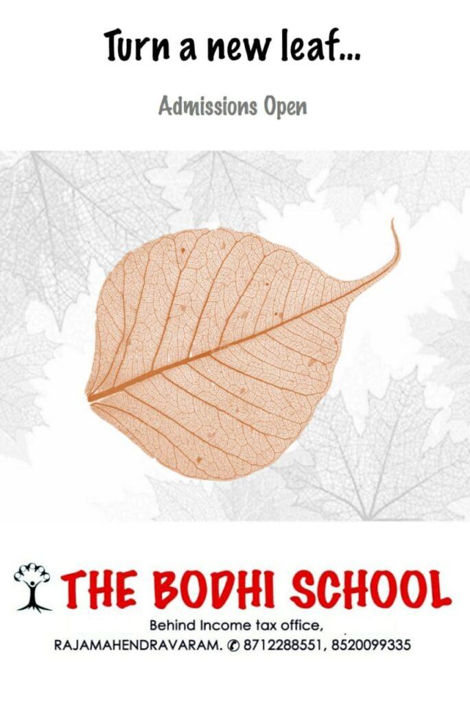 The Bodhi school Rajahmundry