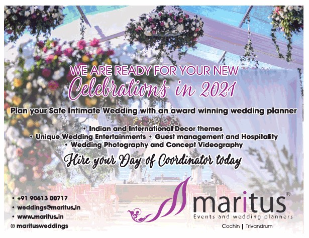 Maritus events and wedding planners