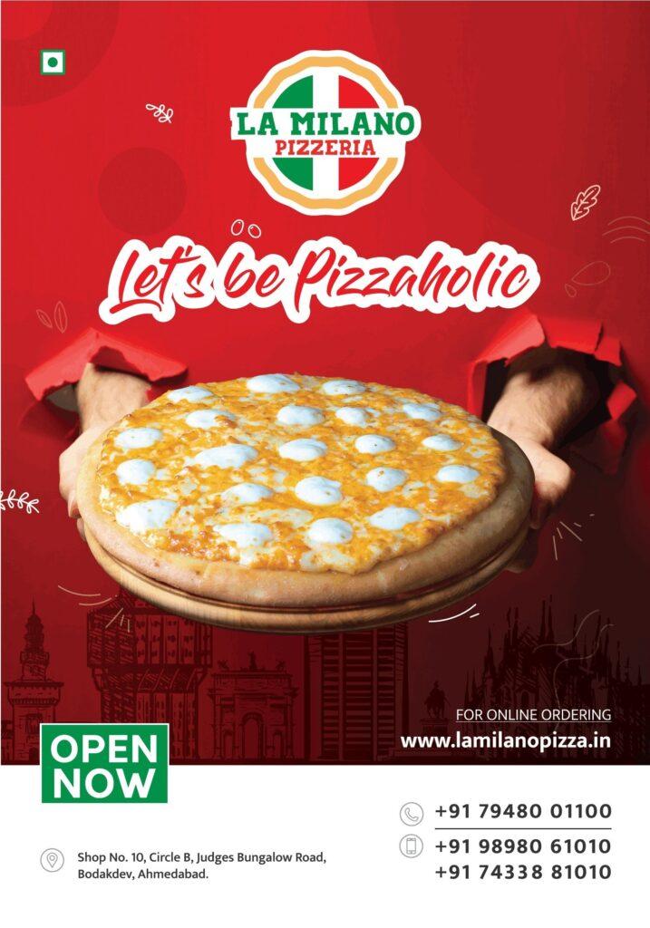 La Milano pizzeria Ahmedabad