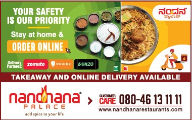 Nandhana Palace Bangalore