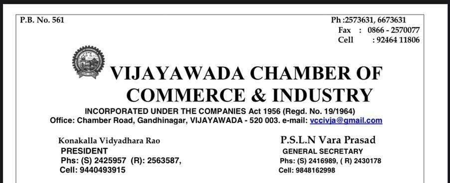 Vijayawada chamber of commerce