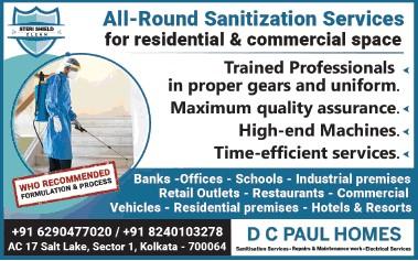 Sanitization service provider in Kolkata