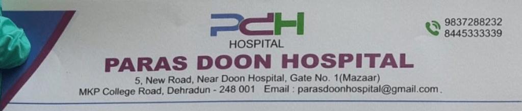 Paras doon hospital dehradun