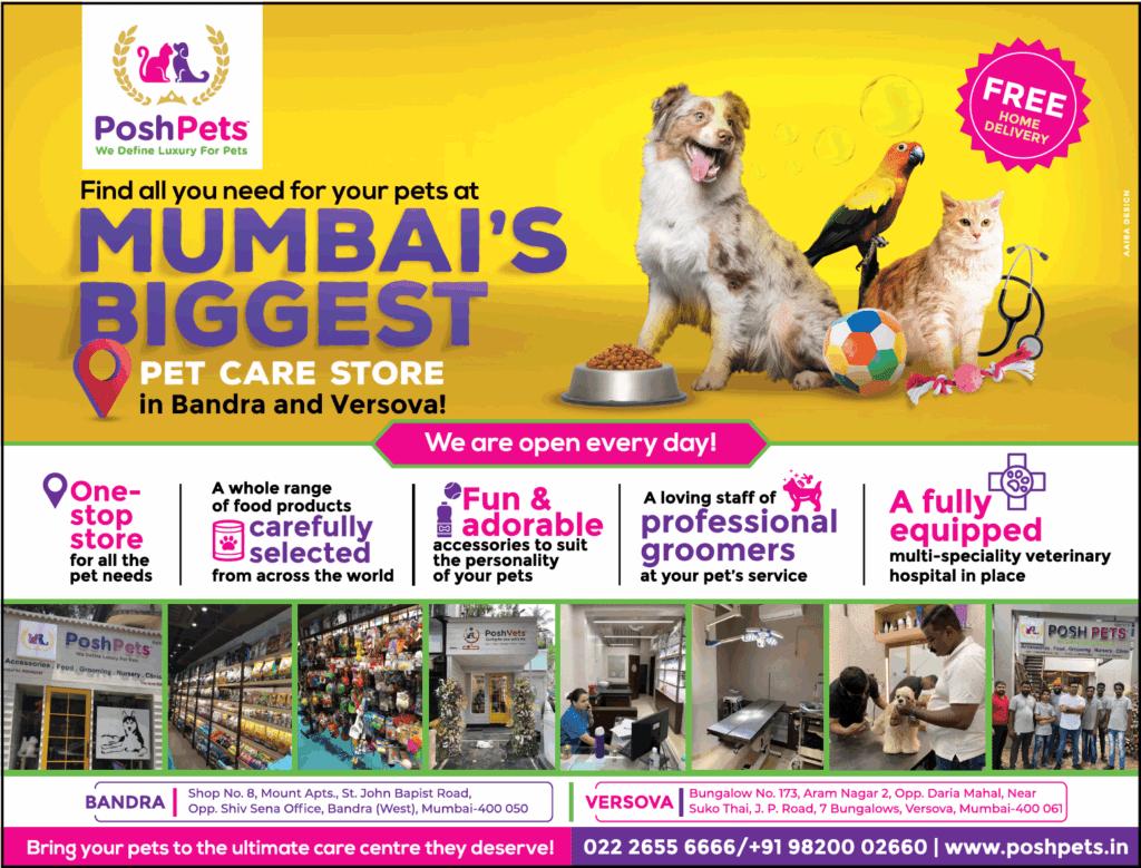 Posh Pets Mumbai